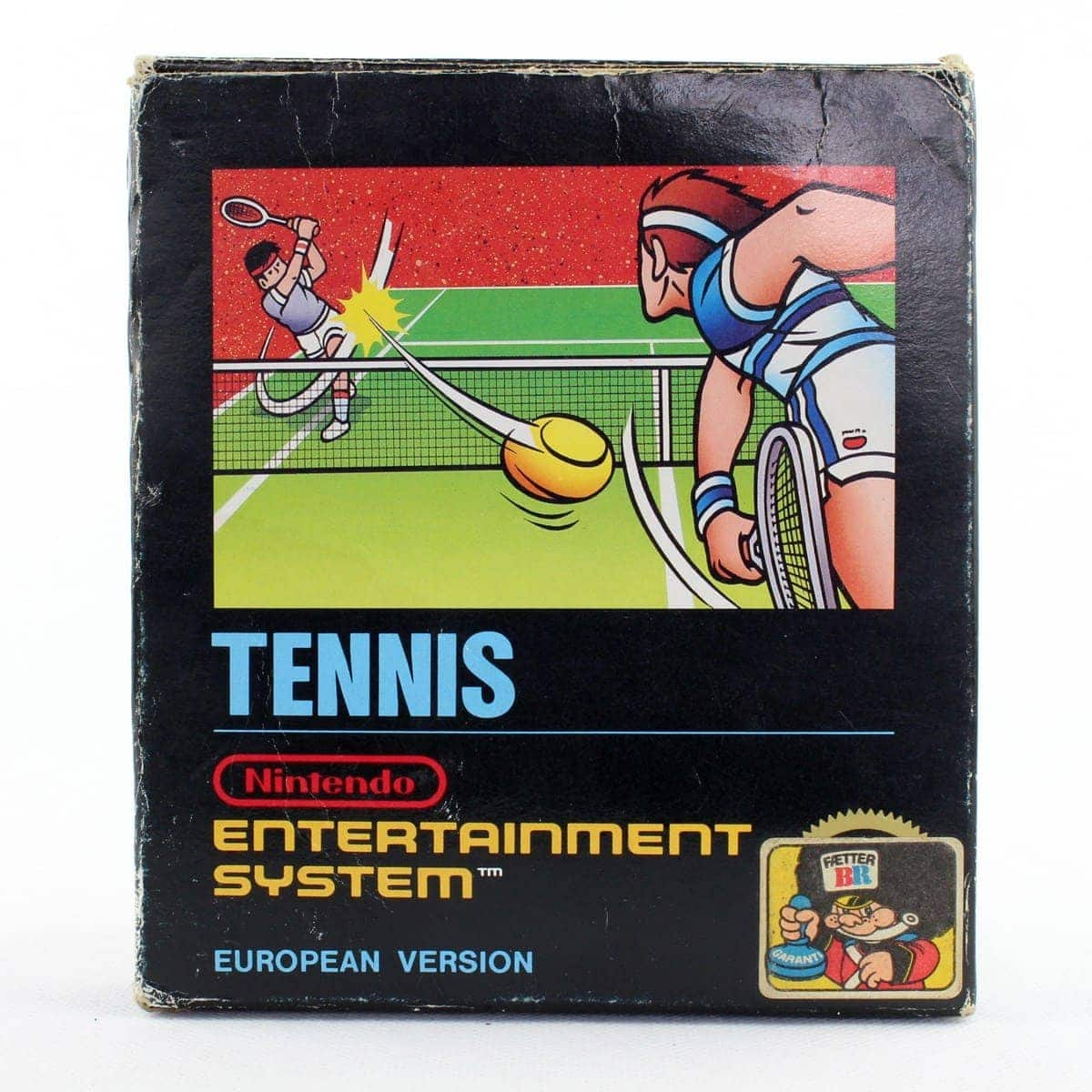 Tennis (Nintendo NES, Small Box, PAL-B, SCN)
