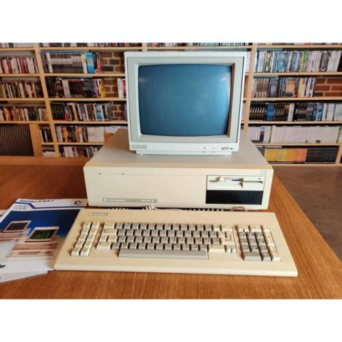Commodore PC10-II m. monitor og tastatur