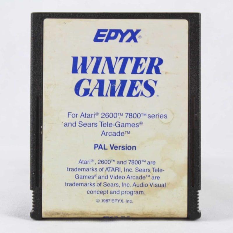 Winter Games (Atari 2600/7800)