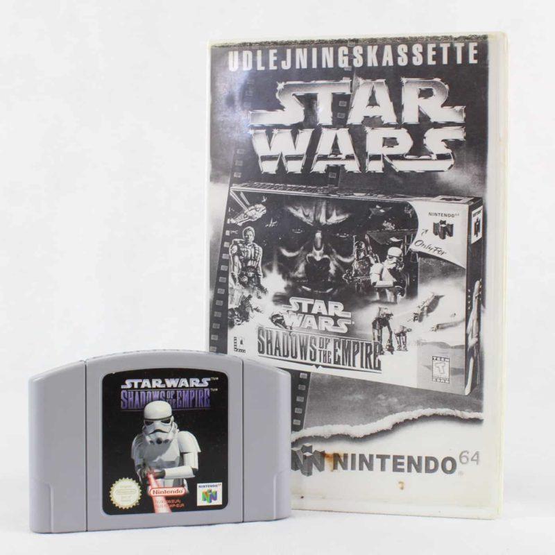 Star Wars: Shadows of the Empire (Nintendo 64) - Udlejningskassette