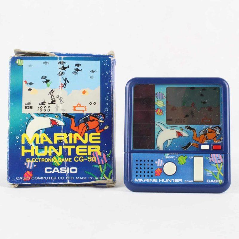 Casio Marine Hunter Electronic Game CG-50