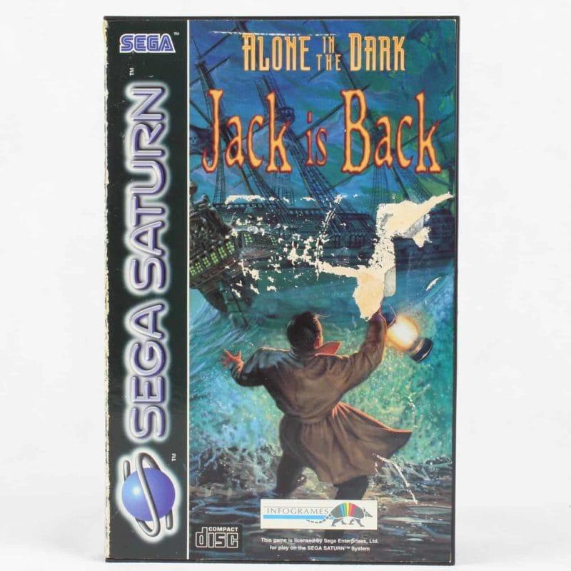 Alone in the Dark: Jack is Back (SEGA Saturn)
