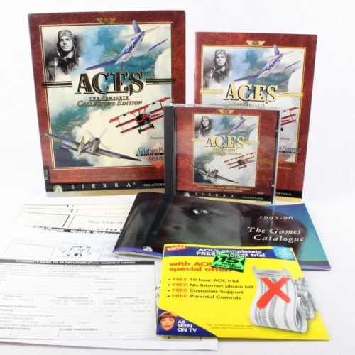 Aces: The Complete Collector's Edition (PC Big Box, 1995, Sierra)