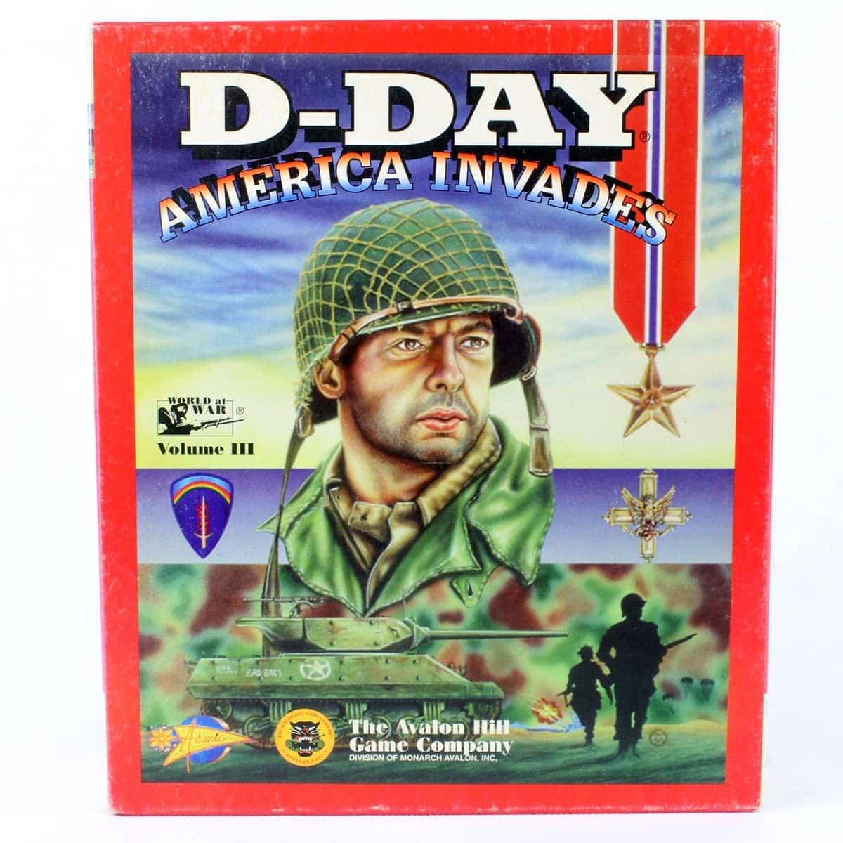 D-Day: America Invades (PC Big Box, 1995, Atomic Games / Avalon Hill)