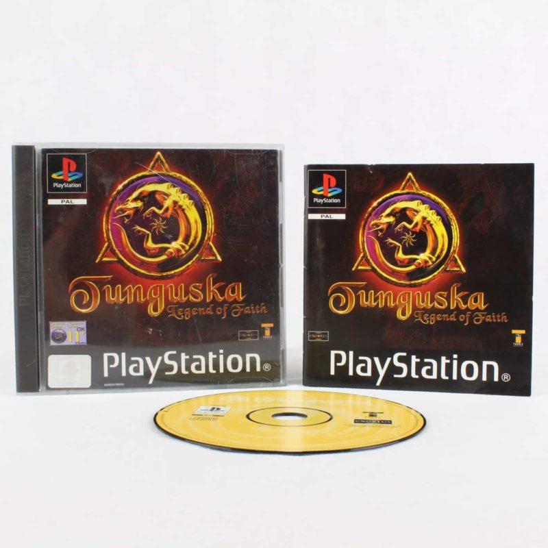 Tunguska: Legend of Faith (Playstation 1)