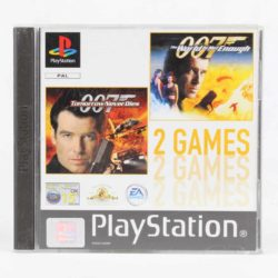 2 Games: 007: Tomorrow Never Dies / 007: The World is Not Enough (PS1)