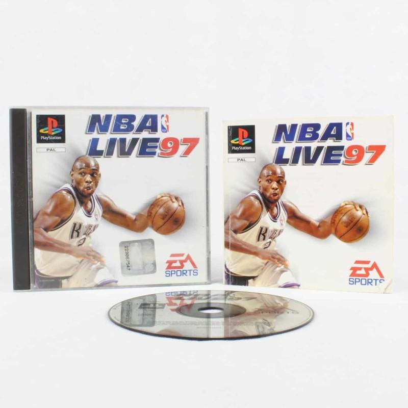 NBA Live 97 (Playstation 1)