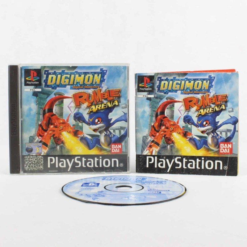 Digimon Rumble Arena (Playstation 1)