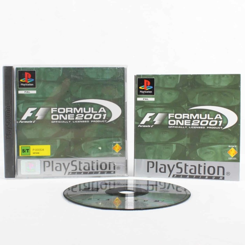 Formula One 2001 (Playstation 1)