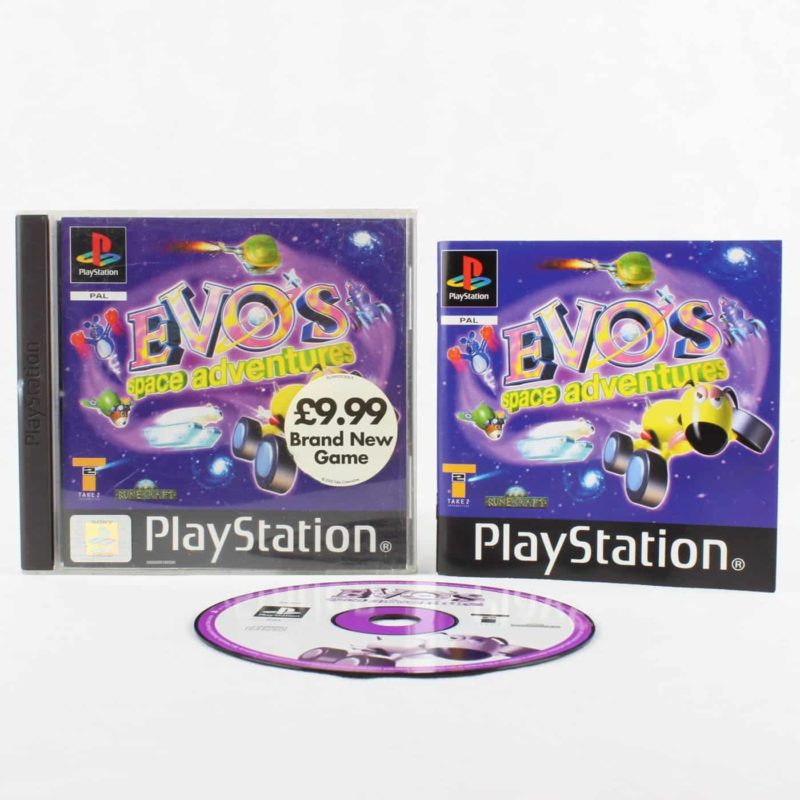 Evo's Space Adventure (Playstation 1)