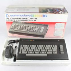 Commodore 16 m. kasse