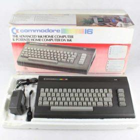 Commodore 16 m. kasse