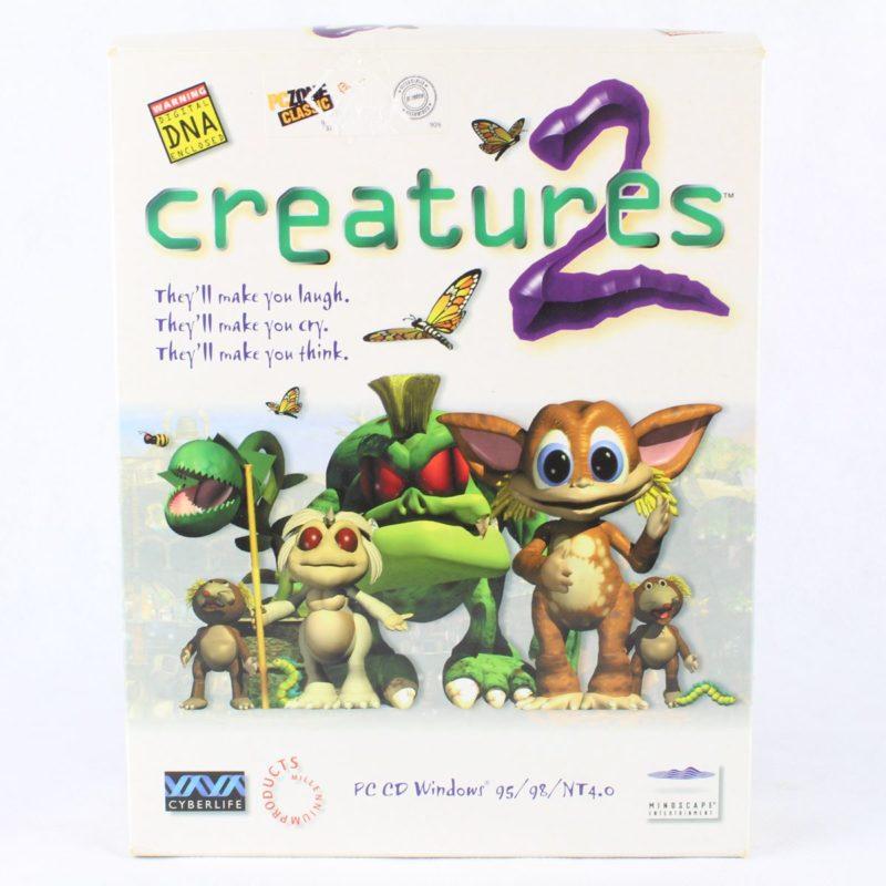 Creatures 2 (PC Big Box, 1998, Mindscape) - Brugt PC spil