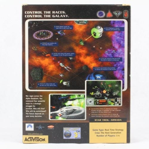 Star Trek: Armada (PC Big Box, 2000, Activision)