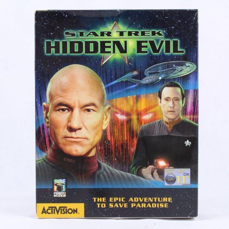 Star Trek: Hidden Evil (PC Big Box, 1999, Presto Studios / Activision)