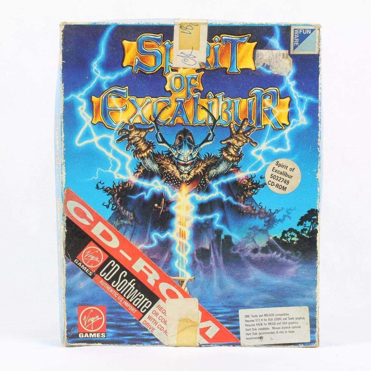 Spirit of Excalibur (PC Big Box, 1990, Synergistic Software)