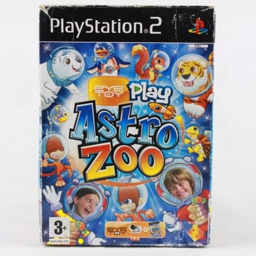 EyeToy: Play Astro Zoo (PS2) - inkl. boks og kamera