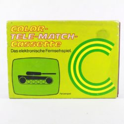Color Tele-Match Cassette - Panzerspiel