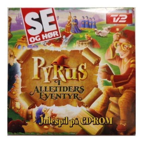Pyrus i Alletiders Eventyr (PC) - Julespil på CD-ROM