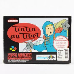 Tintin in Tibet (SNES - Boxed)