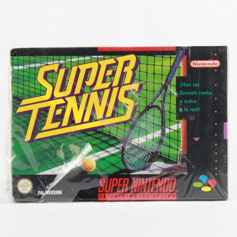 Super Tennis (SNES - Boxed - Sealed)