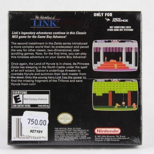 Zelda II: The Adventure of Link (GBA - Boxed - Sealed)