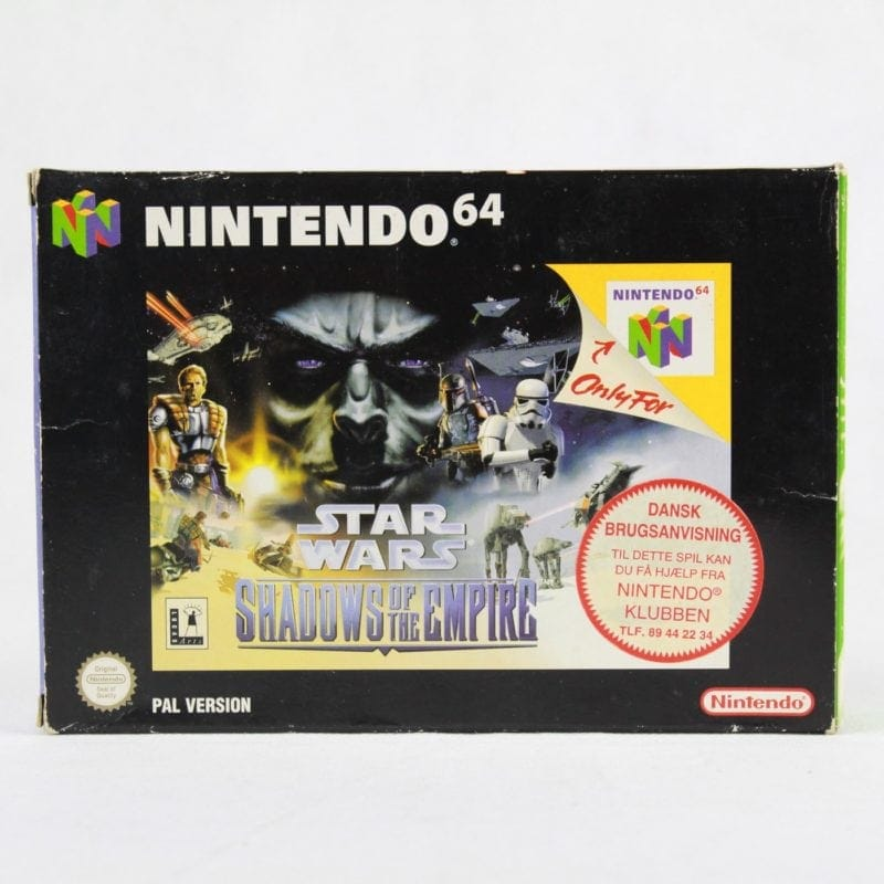 Star Wars: Shadows of the Empire (Nintendo 64 - Boxed)