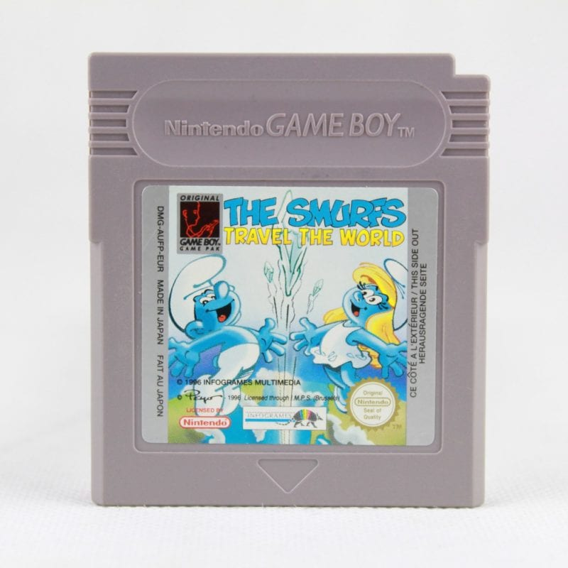 The Smurfs: Travel the World (Game Boy)