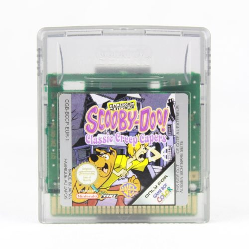 Scooby-Doo!: Classic Creep Capers (Game Boy Color)