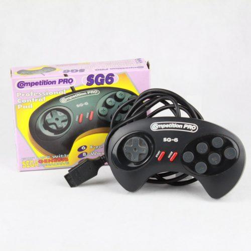 Compition Pro SG6 Controller til SEGA Mega Drive
