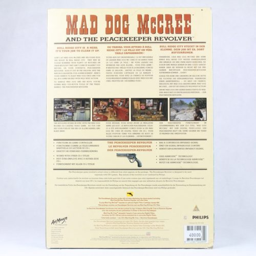 Mad Dog McCree and the Peacekeeper Revolver (Philips CD-i)
