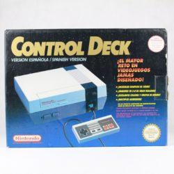 Nintendo NES Konsol (Control Deck - Komplet m. kasse)