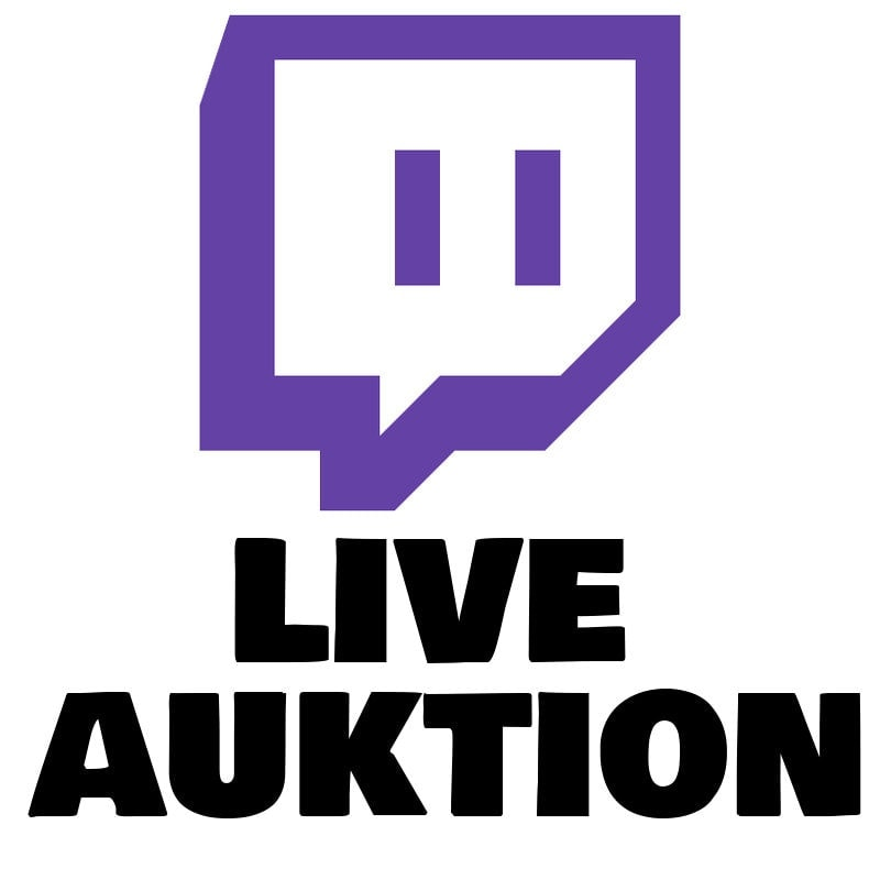 Twitch Live Auktion fra Want To Sell Retro