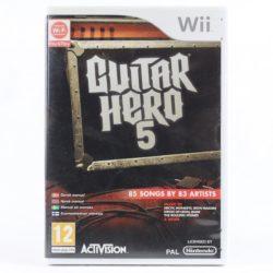 Guitar Hero 5 (Nintendo Wii)
