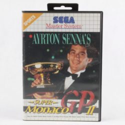 Ayrton Senna's Super Monaco GP II (SEGA Master System)