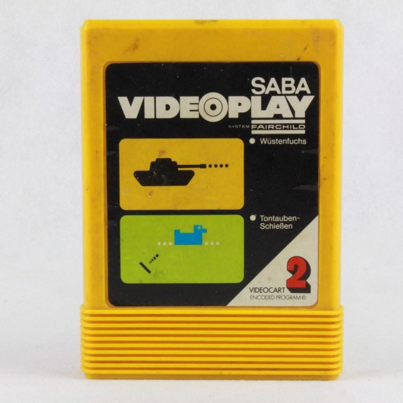 Saba Videoplay System Fairchild - Videocart 2