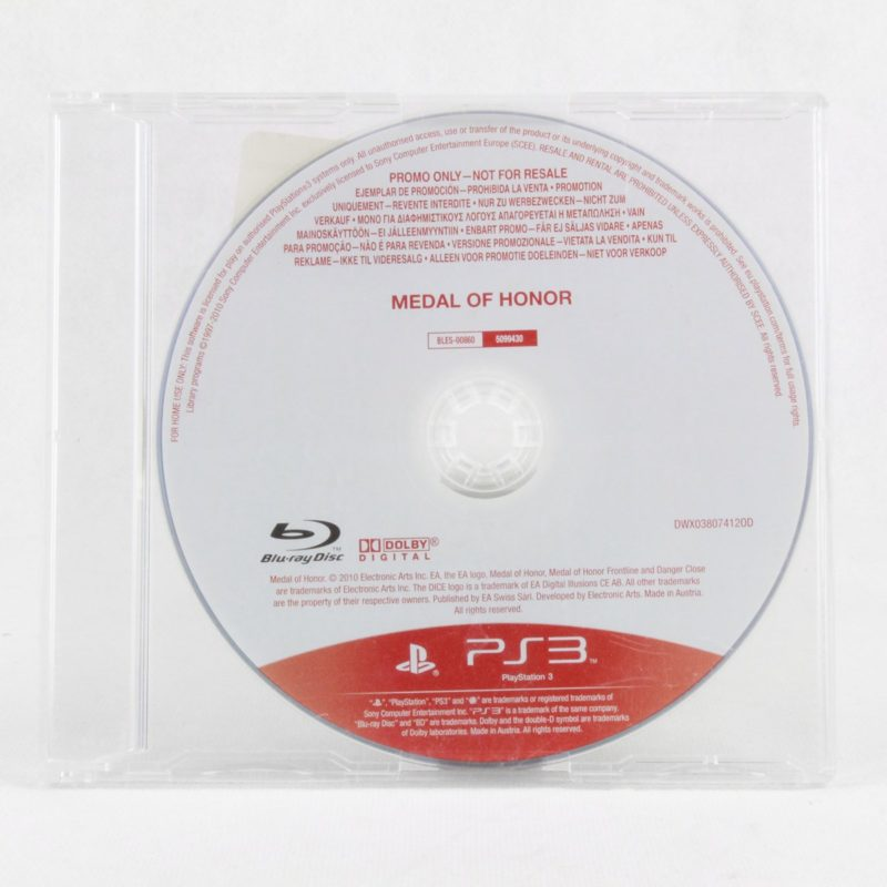Medal of Honor (PS3 - Promo)