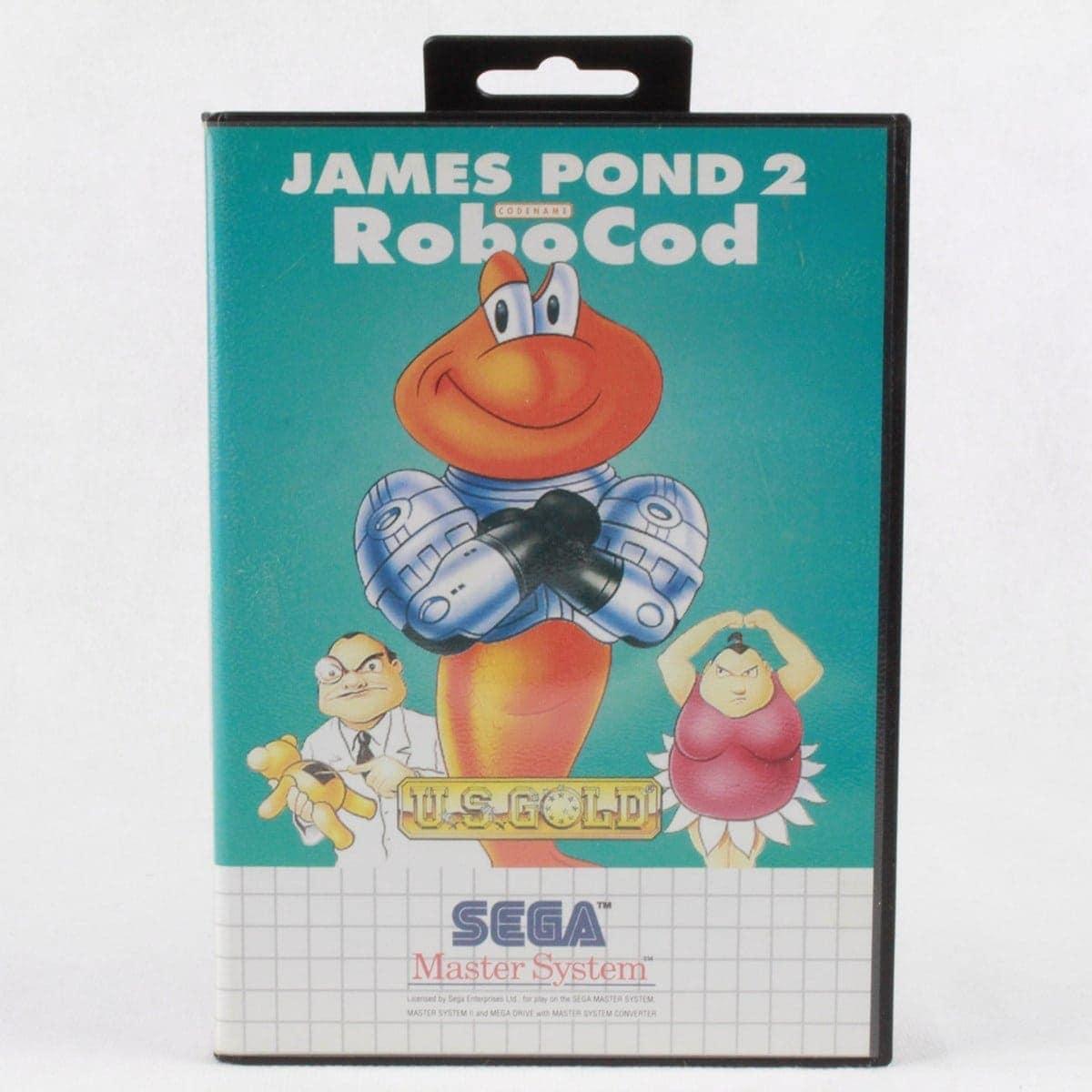 James Pond 2: Codename: RoboCod (SEGA Master System)