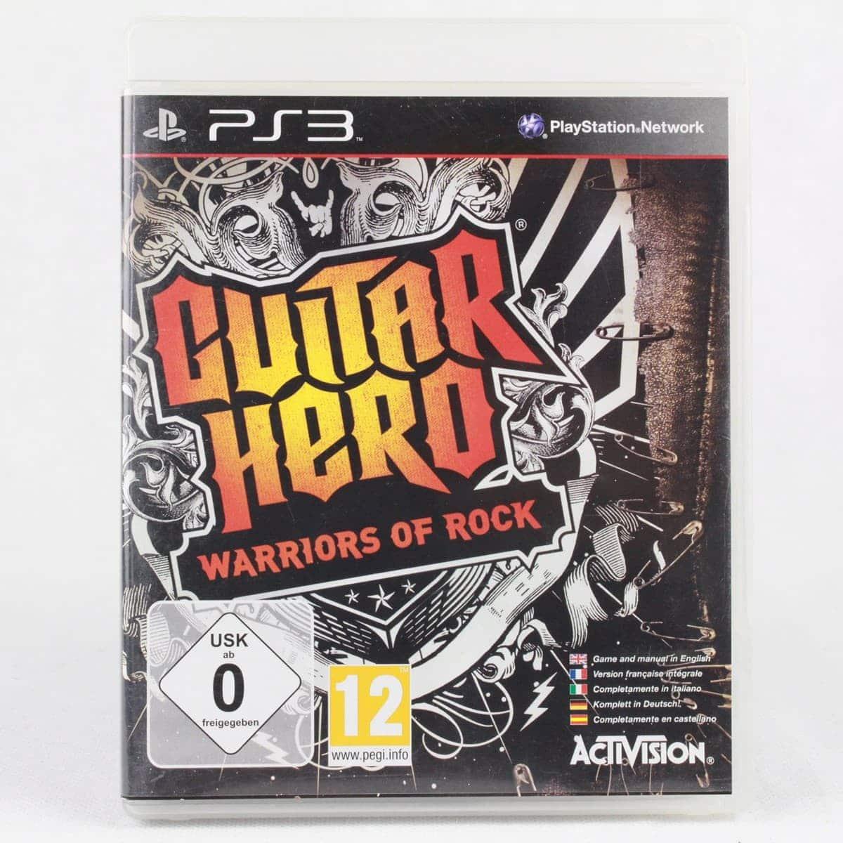 Guitar Hero: Warriors of Rock (PS3)