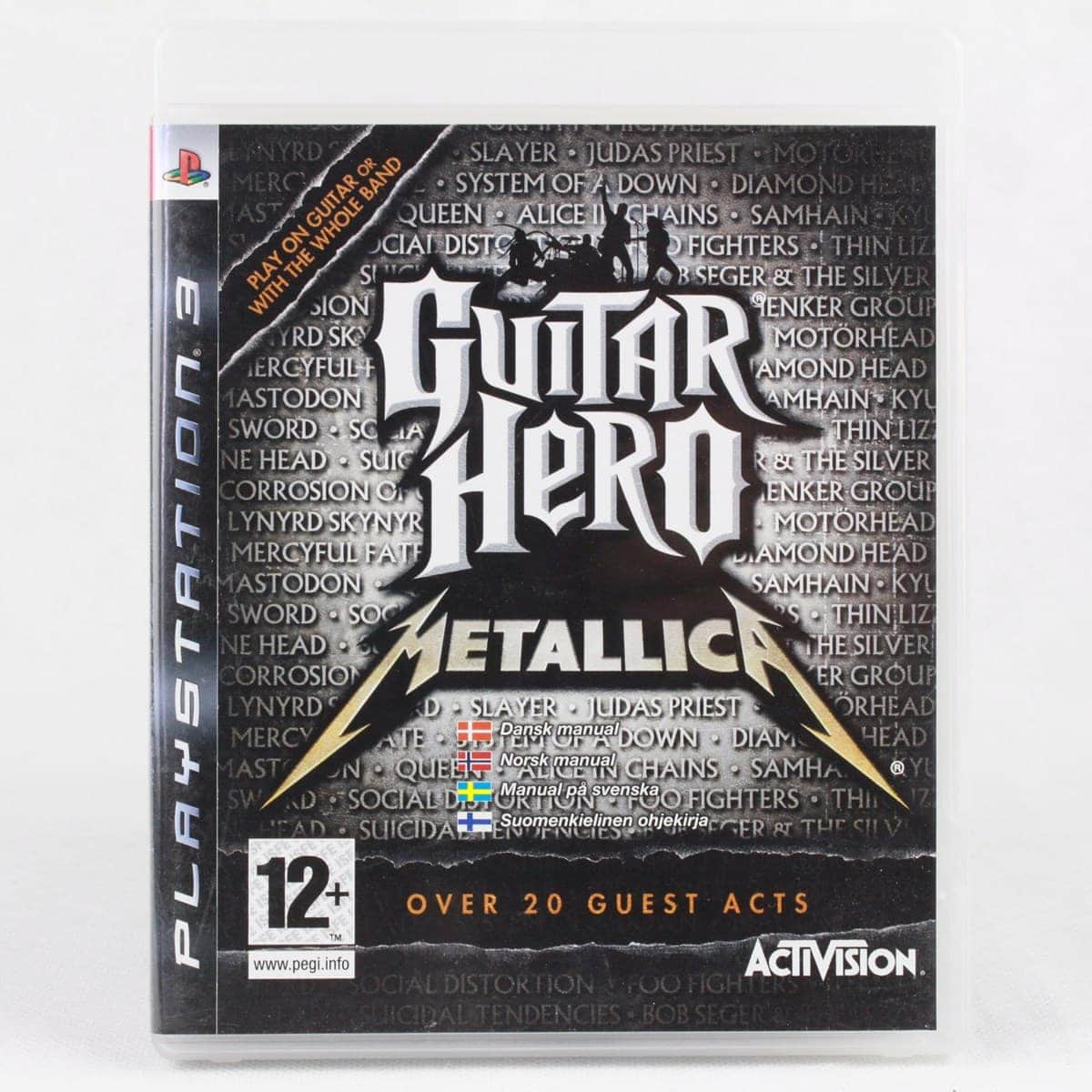 Guitar Hero: Metallica (PS3)