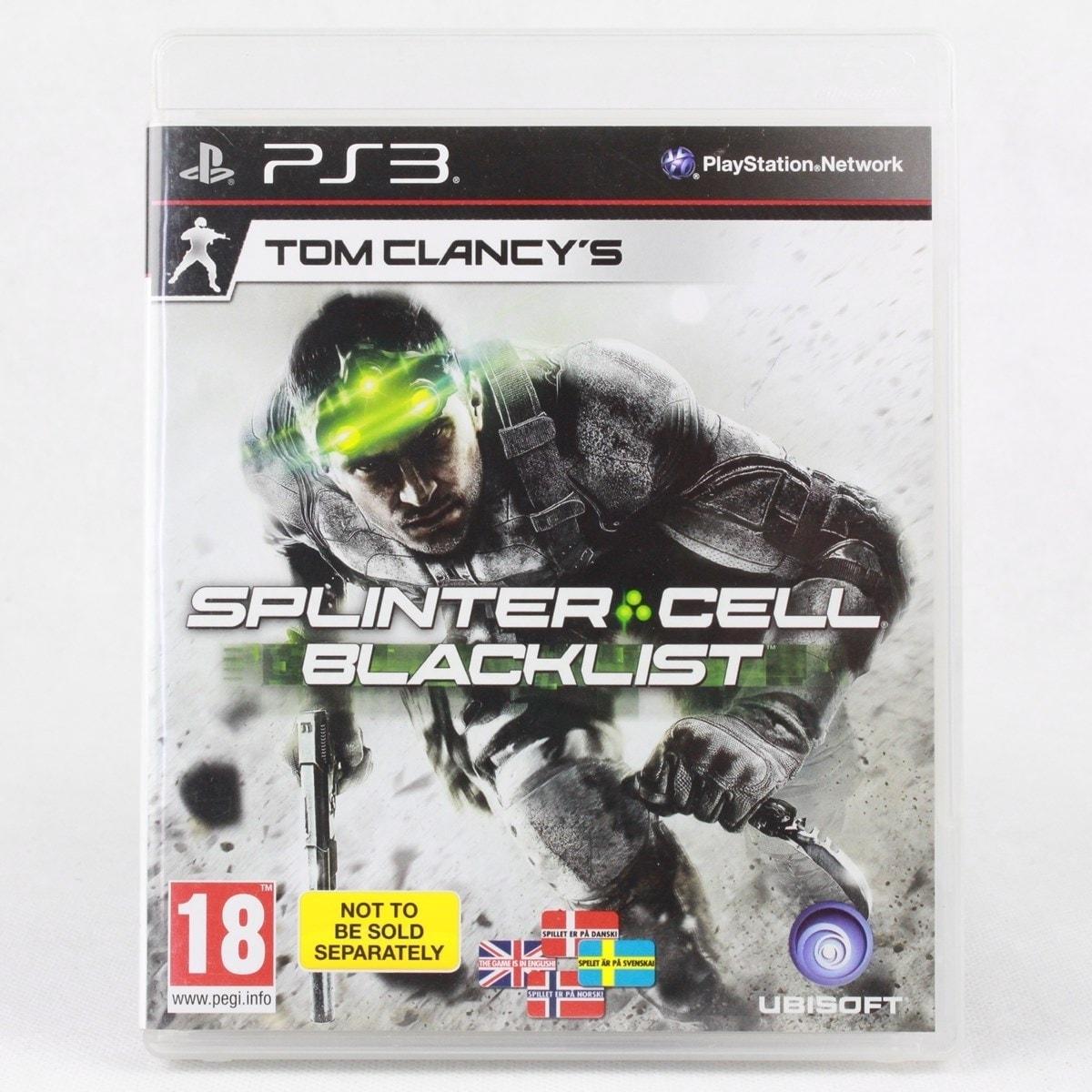 Tom Clancy's Splinter Cell: Blacklist (PS3)