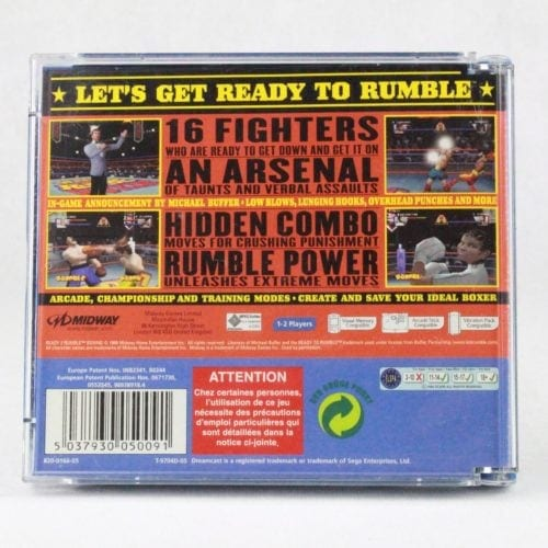 Ready 2 Rumble Boxing (SEGA Dreamcast)