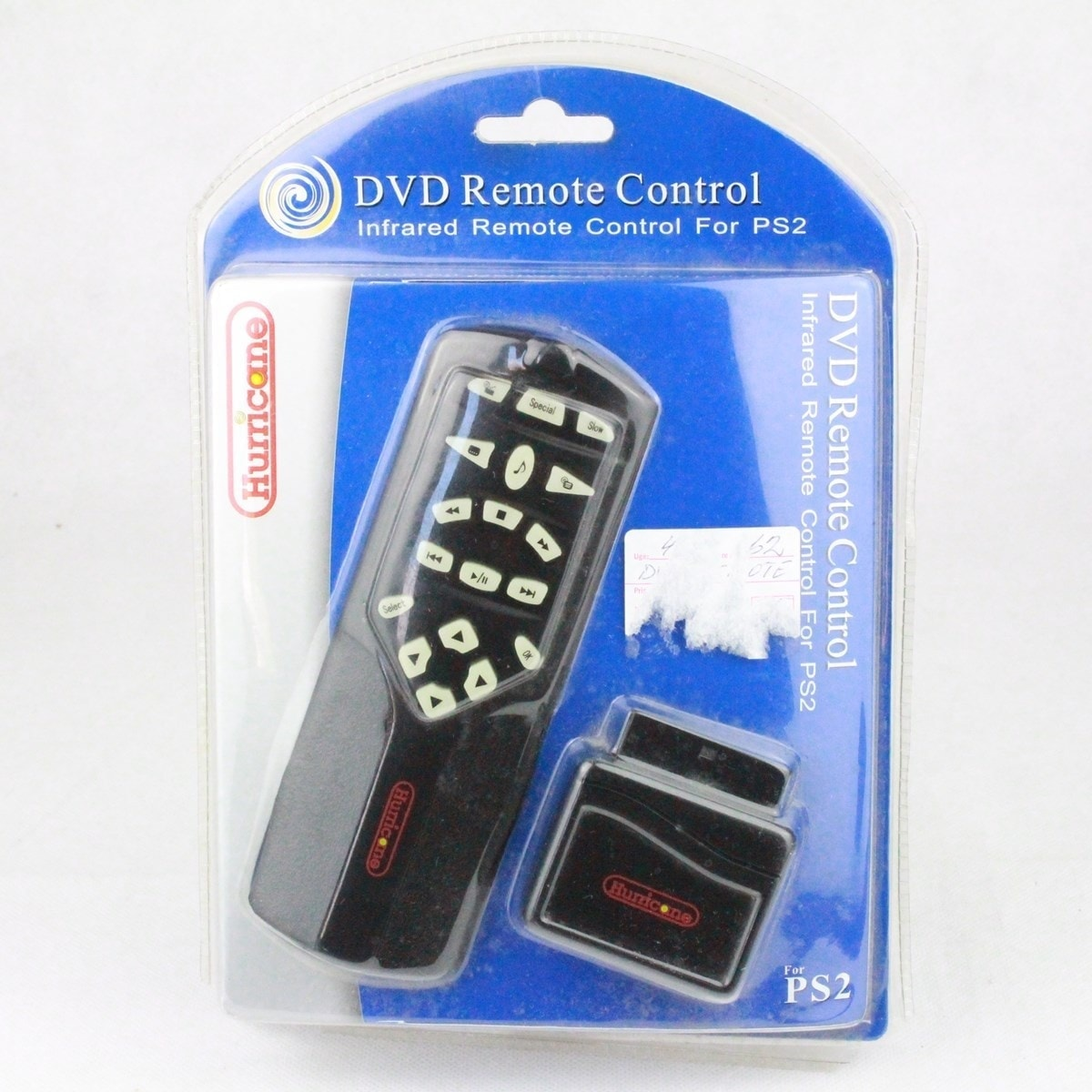 Hurricane DVD Remote Control til Playstation 2