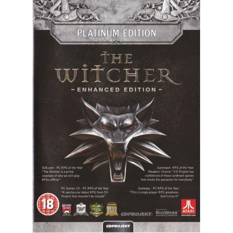 The Witcher: Enhanced Edition - Platinum Edition (PC)