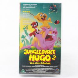 Jungledyret Hugo 2 - den store filmhelt (VHS - Dansk tale)