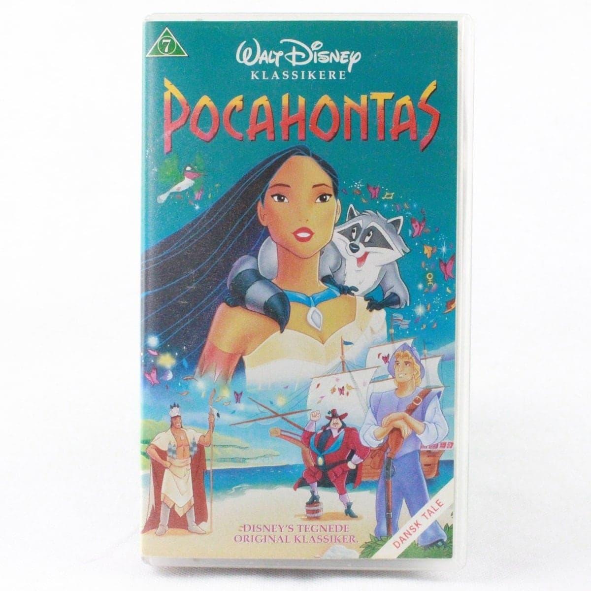 Pocahontas (VHS - Dansk tale)