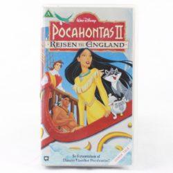 Pocahontas 2: Rejsen til England (VHS - Dansk tale)