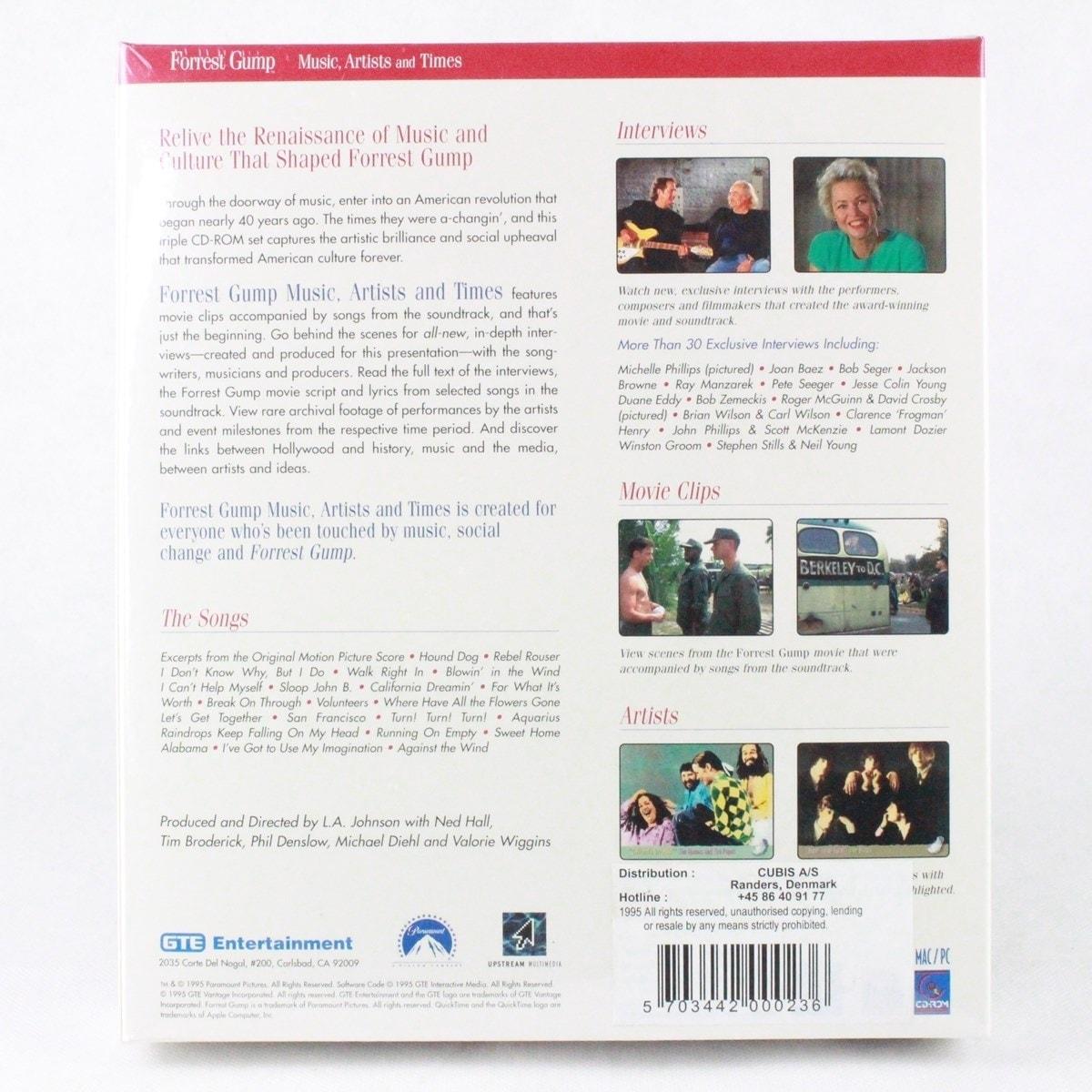 Forrest Gump: Music Artists & Times (PC/MAC - Big Box)