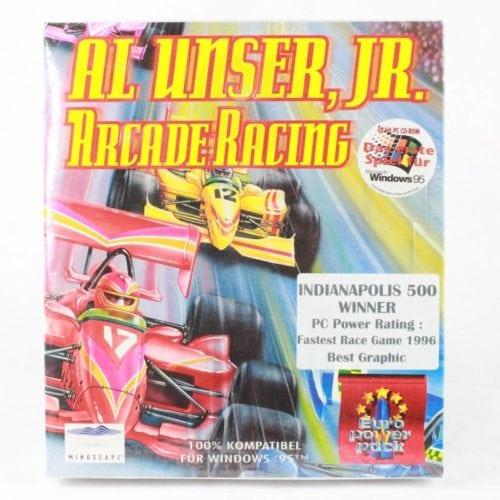 Al Unser, Jr. Arcade Racing (PC Big Box, 1995, Mindscape)