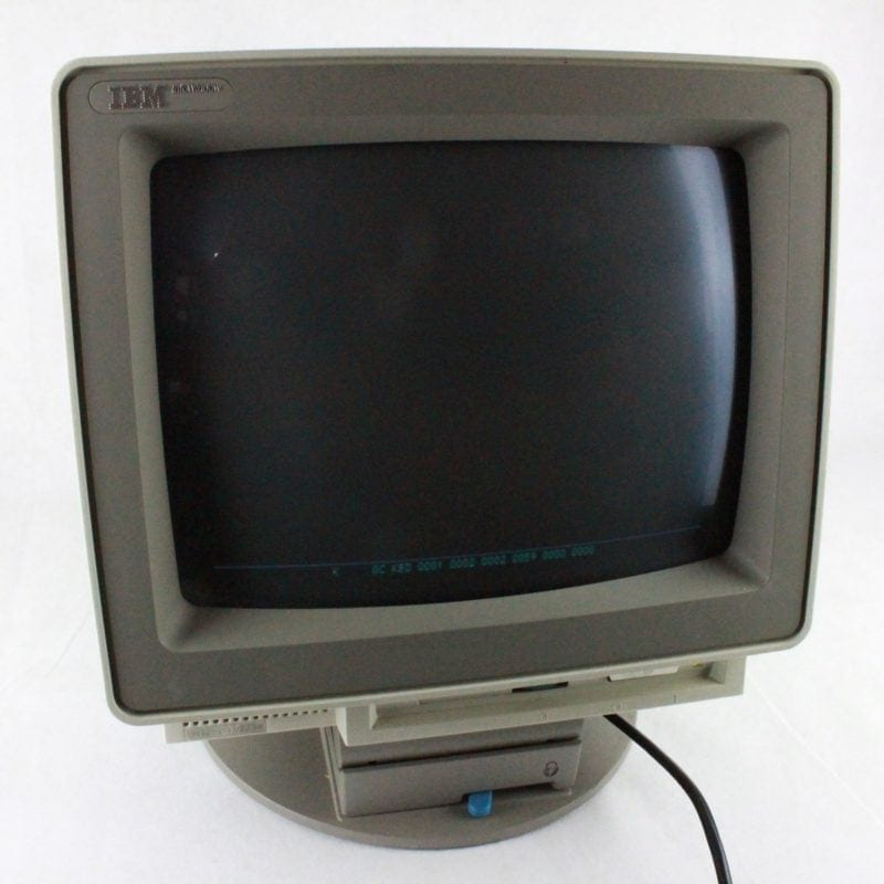 IBM InfoWindow Monitor 3472